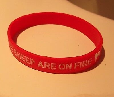 Aberdeen Fc The Sheep Are On Fire Wristband