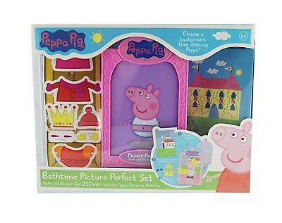 NEW Peppa Pig Bathtime Picture Perfect Set Dress up NICE GIFT
