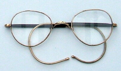 """C.1930's ROLLED GOLD *ALGHA"""" SPECTACLES"""