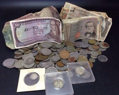 MASSIVE World Currency Money Lot-Mexico,Columbia,Middle East & More