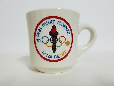 Saura District 1984 Olymporee - Boy Scouts Ceramic Coffee Cup Mug