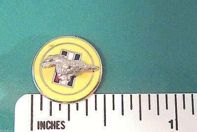 MUSTANG logo - 'mini-pin' - hat pin , lapel pin , hatpin , tie tac GIFT BOXED Y