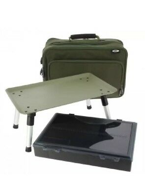Ngt Two Tier Holdall With Built In Bivvy Table & Box