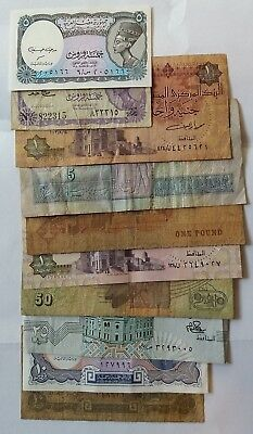 10 Banknotes from Egypt