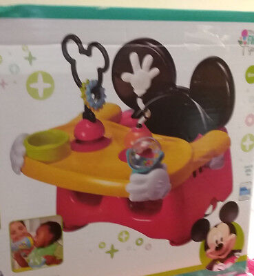 Fast Shipping! Disney Baby Mickey Mouse Clubhouse Helping Hands Feeding Seat