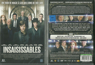 DVD - INSAISISSABLES avec MICHAEL CAINE, MORGAN FREEMAN NEUF EMBALLE NEW SEALED