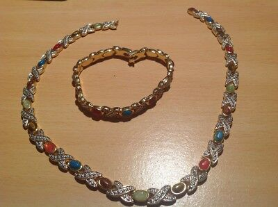 Jolie ensemble collier et braclet