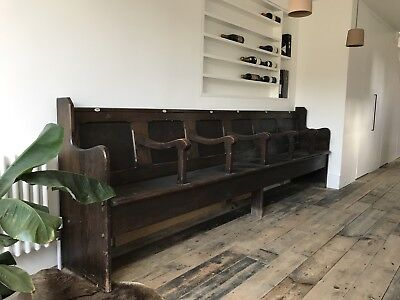 Large Antique Pew