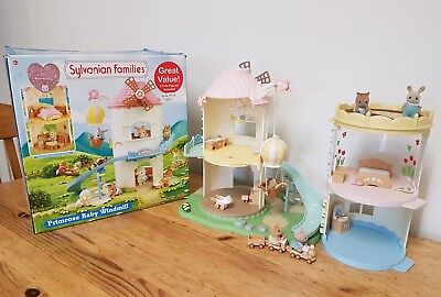 Sylvanian Families Primrose Windmill with Extensions - Boxed