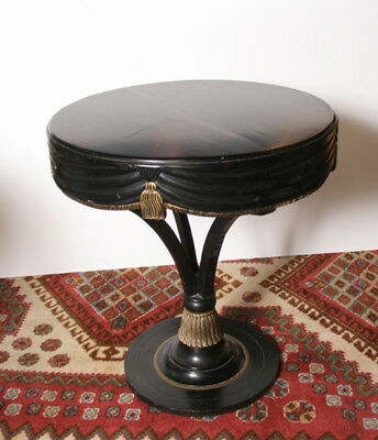 Black Sash Entryway End Table