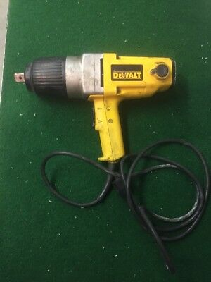 Dewalt Dw297 7.5 Amp 3/4 In. Impact Wrench PRE OWNED SOLD AS PICTURED