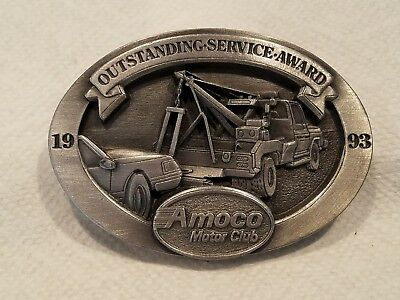 Amoco Motor Club collectibles belt buckle. NUMBERED