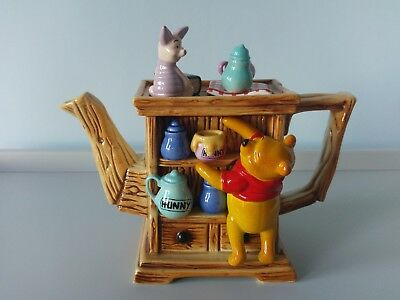 Paul Cardew Disney Winnie The Pooh Limited Edition Teapot Christmas Collectable