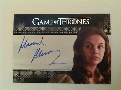 2017 RITTENHOUSE GAME OF THRONES VALYRIAN STEEL AUTO HANNAH MURRAY GILLY free sh