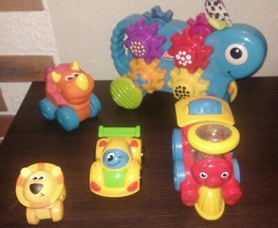 Gros lot jouets roulants fisher price, playskool