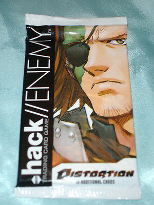 3x .Hack//Enemy DistortionTCG/CCG card game booseter pack