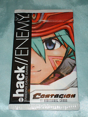 3x .Hack//Enemy ContagionTCG/CCG card game booseter pack
