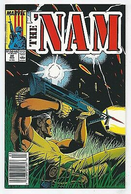 The 'Nam #28 (1989) Newsstand, Marvel NM