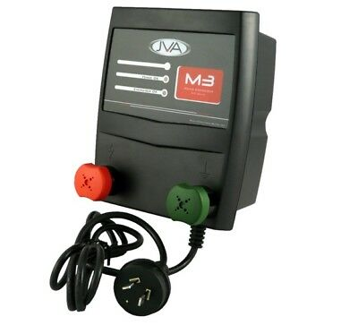 JVA M3 Mains Electric Fence Energiser - 3.5 Joule, 30 km