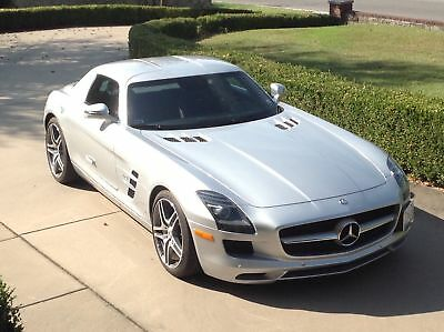 2011 Mercedes-Benz SLS Picture Art Image Photo...Pic of CAR Only!