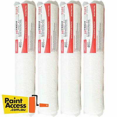 Express Rollers Microfibre Paint Roller Cover 460mm 10mm nap Pack of 4