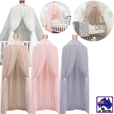 Canopy Netting Nursery Bedding Baby Kid Room Mosquito Net Curtain BSNE964