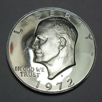 1972 S Eisenhower *proof* Dollar Coin   *40% Silver*   **free Shipping**