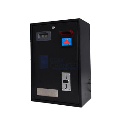 Coin changer with 2 hoppers and coin acceptor