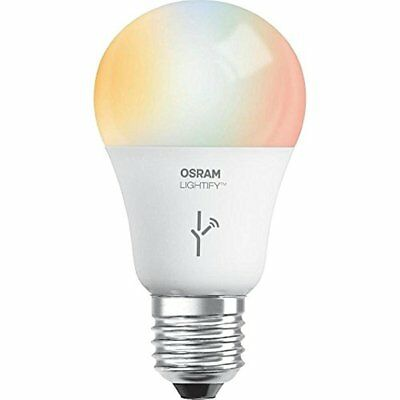 SYLVANIA SMART+ A19 Full Color + Tunable White LED Bulb, 60W Equivalent, Works w