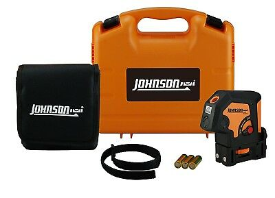 "Johnson Level & Tool 40-6692 2"" Self-Leveling 2 Dot Laser Level"