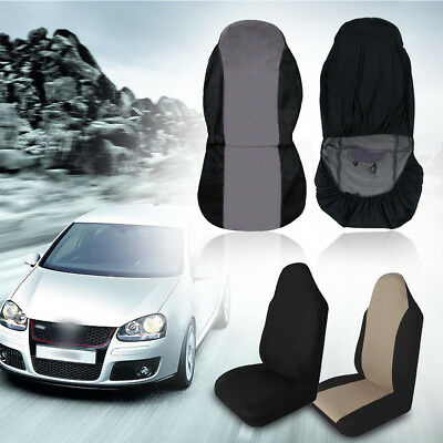 Universal Soft Car Front Rear Seat Covers Cushion Pad for Crossovers SUV Vehicle