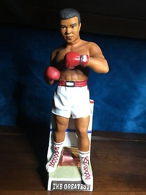 "Muhammad Ali 1981 14"" tall Decanter By McCormick"