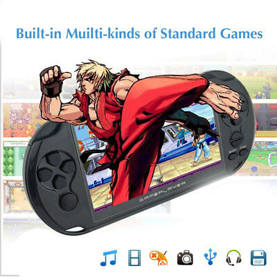 X9 8G 5INCH 32Bit 1000+Games Built In Portable Handheld Video Game Console Style