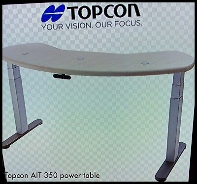 Topcon Ait-350 Adjustable Ophthalmic 3 Instrument Power Table Fully Refurbished!