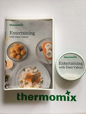 Thermomix Entertaining With Dani Valent Recipe Chip Unregistered Free Postage