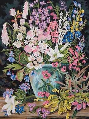 """Tapestry Canvas """"Wildflowers 2""""11873 (50x60cm) Colour Printed"""