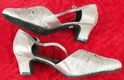 My Juju silver dance shoes size 43 - hardly used