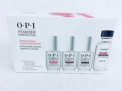 OPI POWDER PERFECTION Dipping System Liquid Essentials Kit