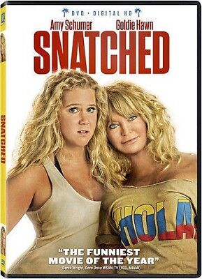 Snatched  (DVD, 2017, Widescreen, Includes Digital HD)  Brand New