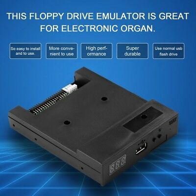 "3.5"" 144MB Upgrade Floppy Drive to USB Flash Disk Drive Emulator + CD Screws CA"