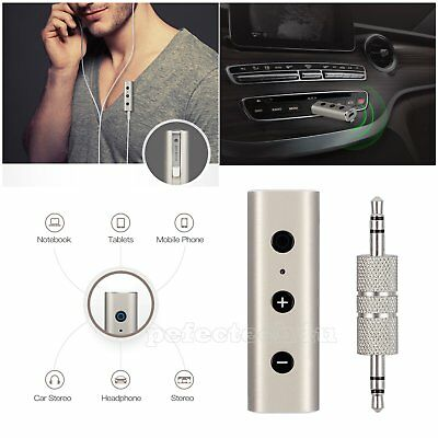 Wireless Bluetooth 4.2 3.5mm Audio Receiver Car Kit Music Streaming Adapter KM