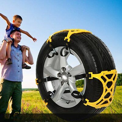 Car Tire Anti-skid Chains Thickened Beef Tendon Wheel Chain for Snow Mud Road KM