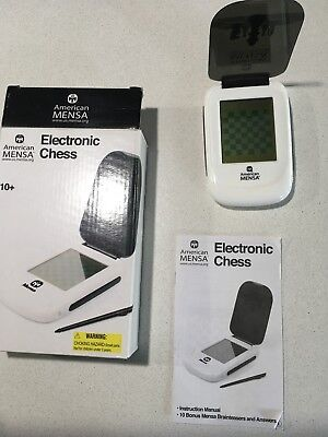 Electronic Chess American Mensa