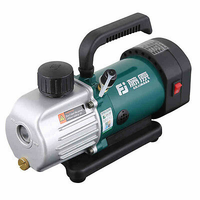 New 220V 1.8CFM 1/6HP Air Conditioning  Rotary Vane Vacuum Pump Single Stage