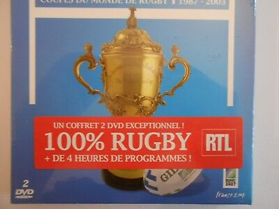 Neuf! ░ Coupes Du Monde De Rugby - Equipe De France - Collector 2 Dvd