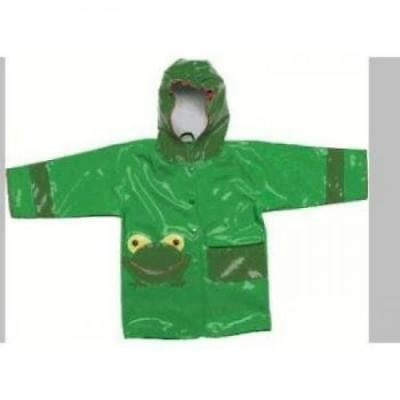 Kidorable Rain Jackets for Kids & Toddlers (Size 2T - 6/6X) - 4/5 - FROG