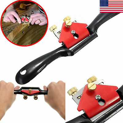 Metal Woodworking Blade Spoke Shave Manual Planer Plane Deburring Hand Tools 9""