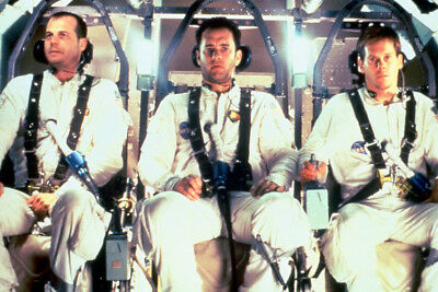 Apollo 13 Tom Hanks And Crew Onboard 24X36 Poster Print