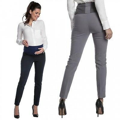 Zeta Ville - Women's Maternity Smart Pants Tailored Work Long Trousers – 206c