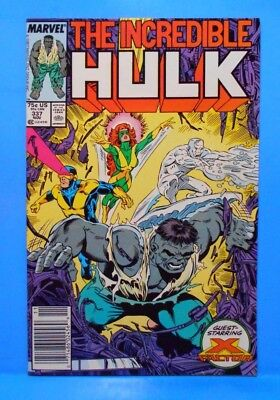 THE INCREDIBLE HULK Volume 1 #337 1987 Uncertified X-FACTOR APPEARANCE